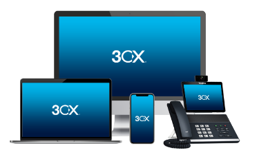 3CX integrated with TeleCloud allows to stay connected to the office