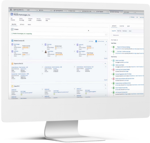 Quick collaboration with advanced business tools