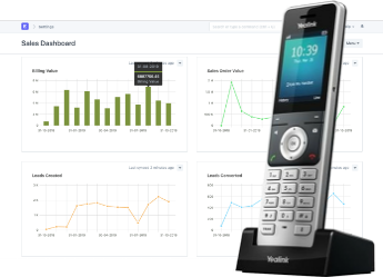 Integrate existing CRM with 3CX and know who is calling before you pick up the phone