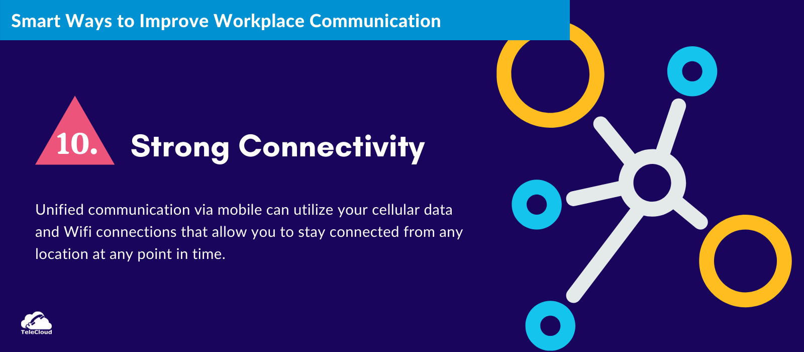 Strong Connectivity to improve business communication - TeleCloud