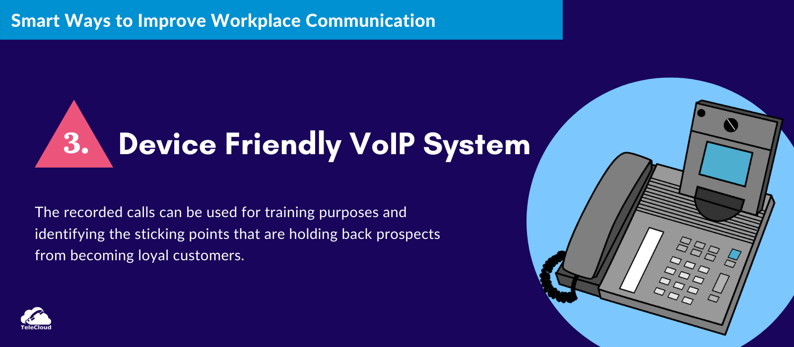 VoIP System to Improve Workplace Communication - TeleCloud