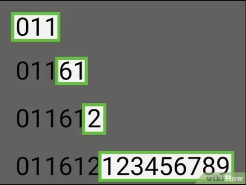 Australian phone number structure